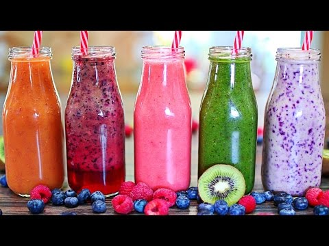 5 Fantastic Healthy Smoothies - Easy Fruity Smoothie Recipes
