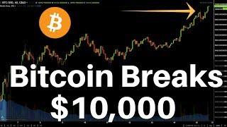 Bitcoin Breaks $10,000 (Again), what
