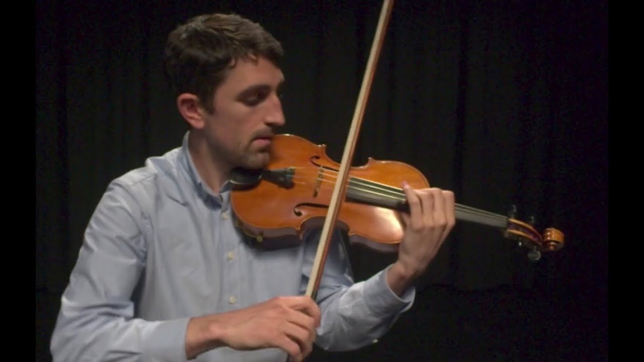 Patrick Galvin SHB'03 Performs Violin Solo of Bach Masterpiece