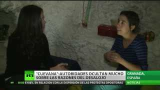 """Habitante de las cuevas de Granada: """"Somos escoria para los políticos"""""""