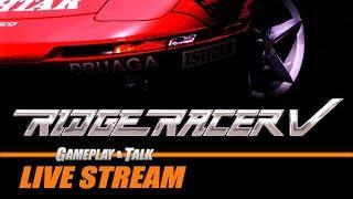 Gameplay and Talk Live Stream - Ridge Racer V (PlayStation 2)