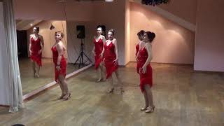 Латина соло танец Танго