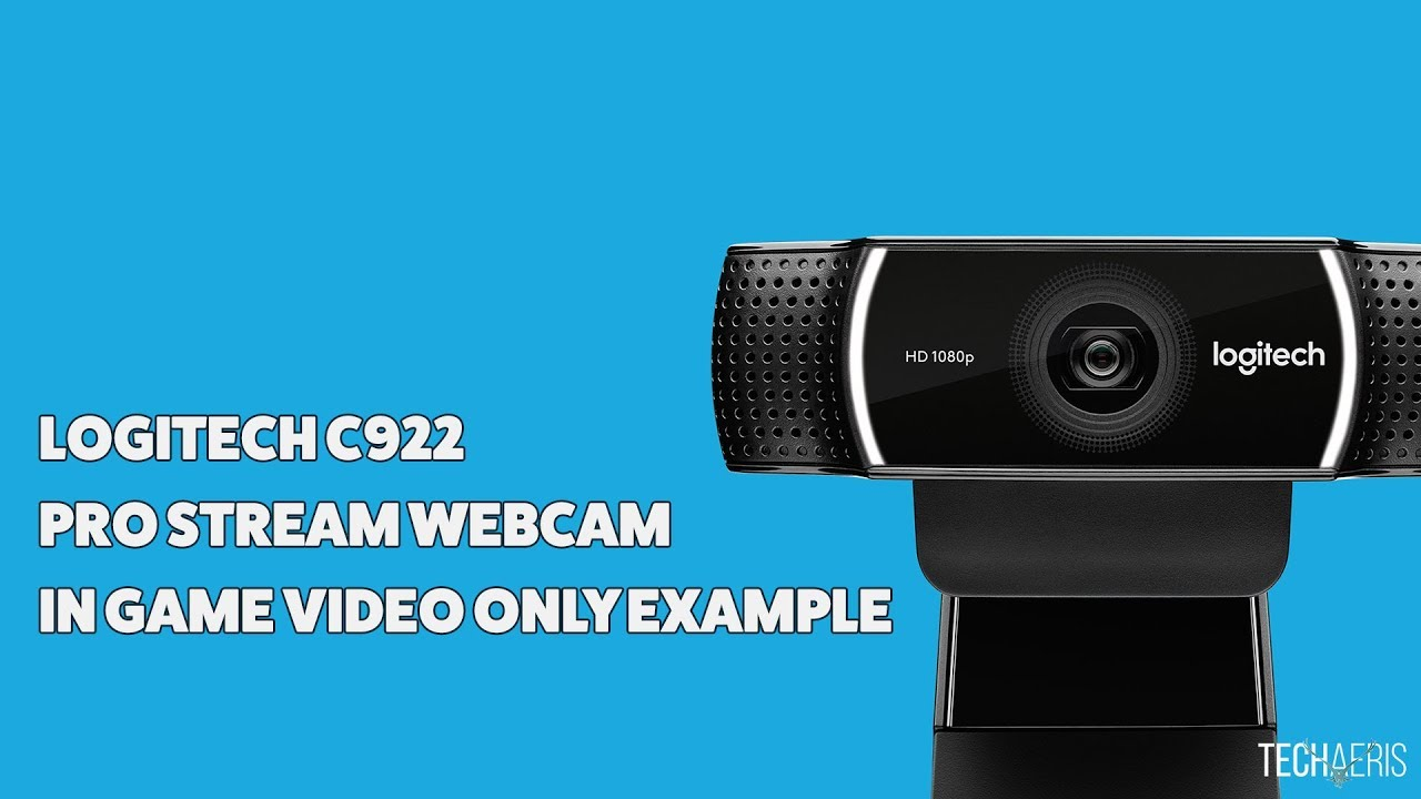 769792718fb Logitech C922 Webcam Video Only Example - YouTube