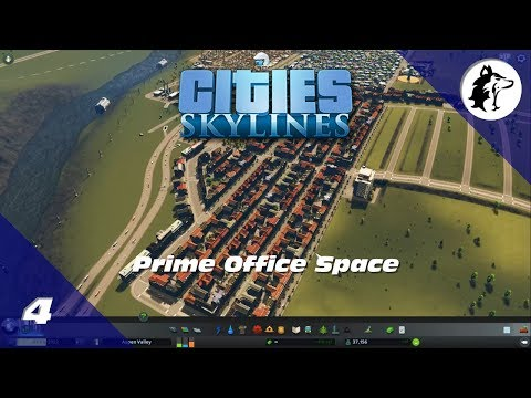 Cities: Skylines | Growing the Offices | Episode 4
