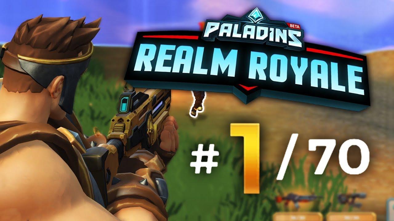 PALADINS REALM ROYALE!! VICTORY!!   Paladins Realm Royale ...