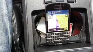 Blackberry q10 navigation feature test Free HD Video