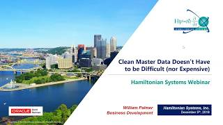 Clean Master Data doesn't have to be Difficult (nor Expensive): Webinar