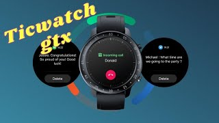 TicWatch GTX Smartwatch With Up to 7 Day Battery Life, Heart Rate Monitor Launched