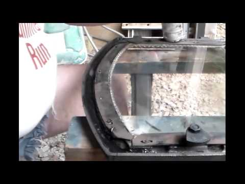 """Replacing a Fireplace Insert """"Rope"""" - YouTube"""