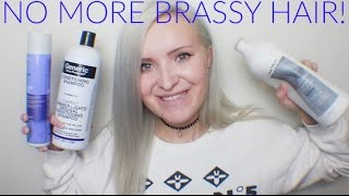 The Best Purple Shampoo For Toning Blonde And Silver Hair  | No More Brass