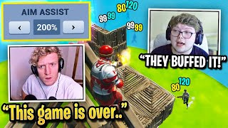 Aydan & Scoped PROVE Aim Assist is BUFFED & NOT NERFED! (Fortnite)