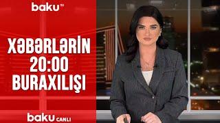 Xəbərlərin - 20.00 buraxılışı (23.01.2020)