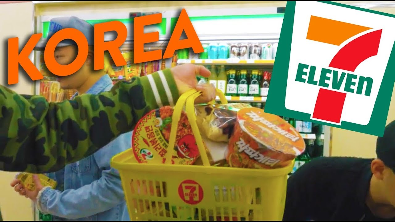 Eating At 7 Eleven In Seoul Convenience Stores In Korea Fung Bros World Tour
