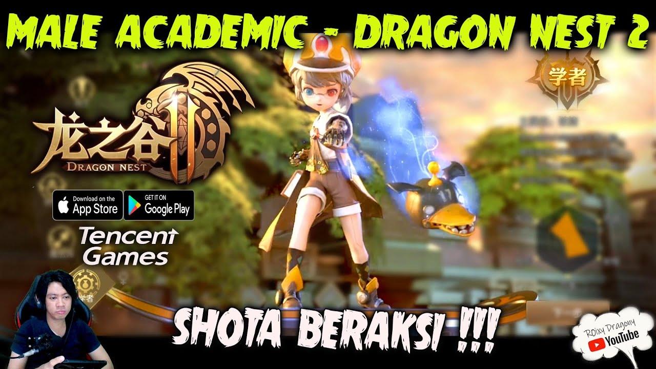 Download New UPDATE Dragon Nest 2 (Tencent) - Male ACADEMICNYA Lebih Keren ui  !!!