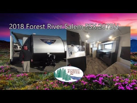 NEW 2018 Forest River Salem FSX 207BH | Indiana RV Dealership