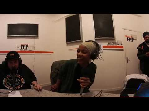 SISTA JAHAN - Freestyle 360° at Party Time Radio Show - 17 SEPT 2017