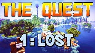 THE QUEST - Ep. 1 : LOST - Fanta et Bob Minecraft Adventure