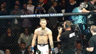 UFC 205 Eddie Alvarez Entrance vs Conor McGregor MSG Live