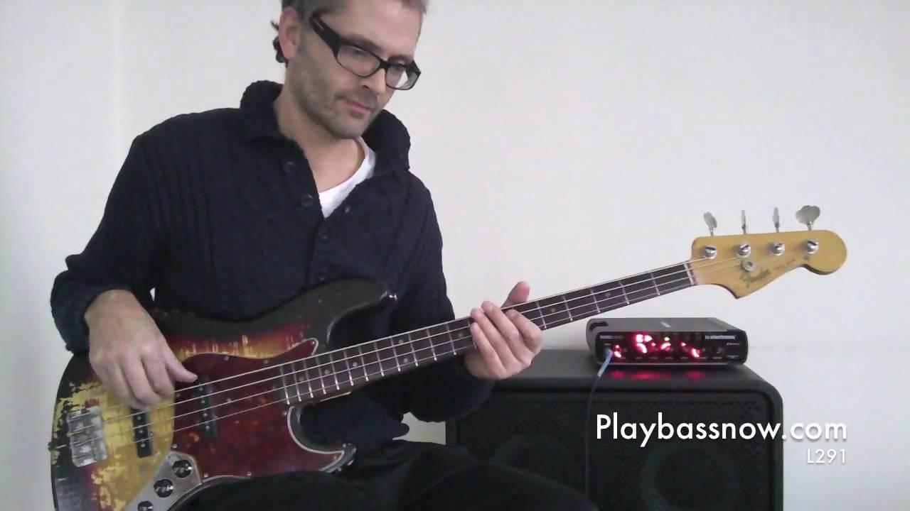 L291 Bouncy disco bass