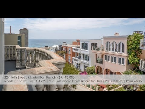 Manhattan Beach Real Estate  New Listings: June 910, 2018  MB Confidential