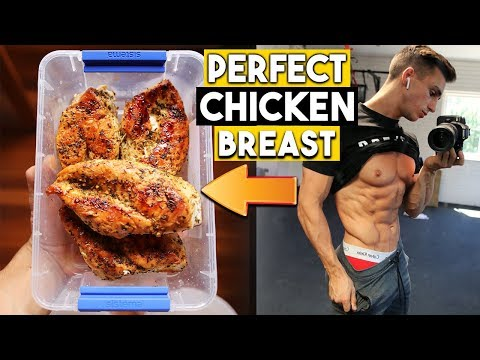 HOW TO COOK BODYBUILDING CHICKEN BREAST | PERFECT EVERY TIME
