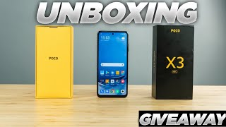 Poco X3 Unboxing and Giveaway| Poco X3 Unboxing technical Guruji| Poco X3 price in india