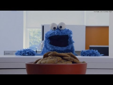 Cookie Monster: 'Share it maybe?'