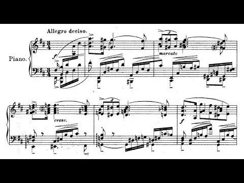 Ignaz Friedman - Ballade Op. 66 (audio + sheet music)