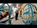 Installing Board & Batten Siding With Genie Scissor Lift | Building a Pole Barn | DIY Construction