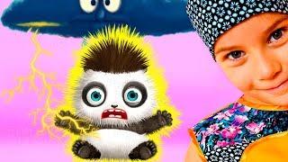 СМЕШНОЕ ВИДЕО ДЛЯ ДЕТЕЙ Новый игровой мультик МАЛЫШКА ПАНДА ЛУ детская игра TutoTOONS