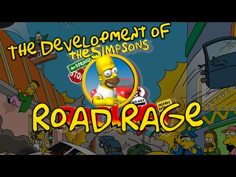 Simpsons: Road Rage | Development History plus Matt Groening