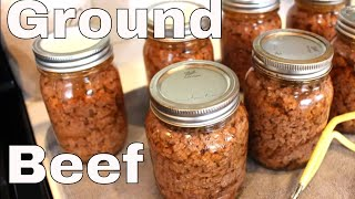 2020 Home Canned Ground Beef With Linda's Pantry