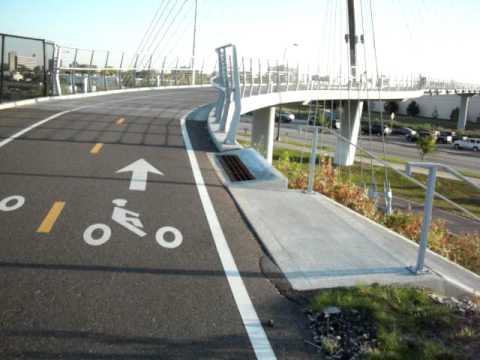 Martin Olav Sabo  bicycle bridge, Minneapolis
