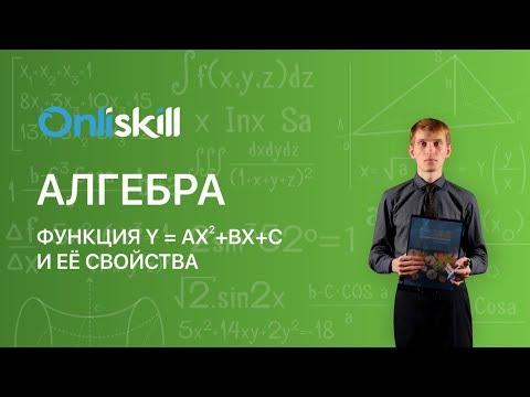 Функция y ax2 bx c видеоурок
