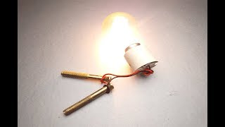 Free Energy Electric Power New Experiment Science Project.