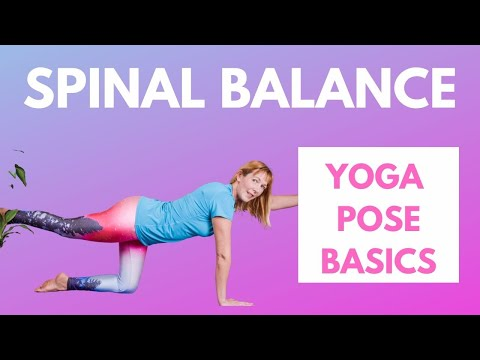 Spinal Balance PoseBeginner Yoga Pose