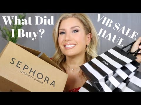 SEPHORA BEAUTY INSIDER EVENT (VIB SALE) 2019 HAUL | Risa Does Makeup
