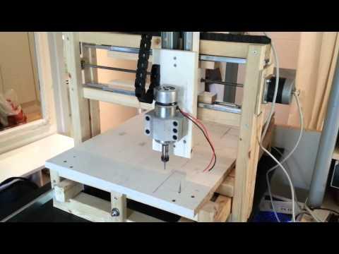 Inexpensive Home build CNC-milling machine