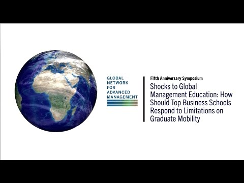 Welcome and Introduction and Shocks to Global Management Education