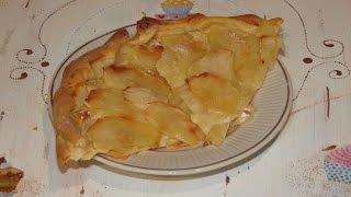 Быстрый итальянский яблочный пирог