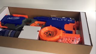 Nerf Elite Hyperfire Review - Fully Automatic Blaster
