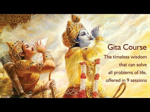 Introduction To Gita Course by ISKCON Whitefield