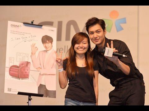 Meet & Greet with Lee Min-Ho at KLCC Malaysia