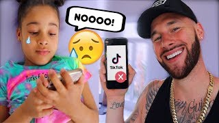 DELETED YOUR TIKTOK PRANK ON 6 YEAR OLD **intense reaction**