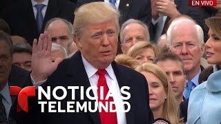 """Trump: """"Desempeñaré el cargo de presidente de EEUU""""   Noticiero   Noticias Telemundo"""