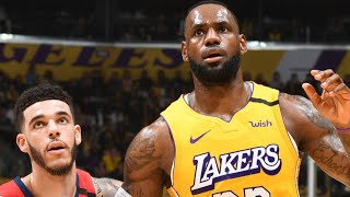 Los Angeles Lakers vs New Orleans Pelicans Full Game Highlights | January 3, 2019-20 NBA Season