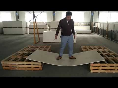 E-Smart Magnesium Mineral Board Strength Test Video
