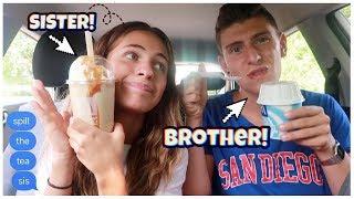 MUK(drink)BANG - sibling talk - WIR SITZEN IM AUTO UND REDEN OK (