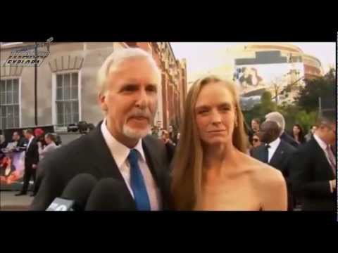 TITANIC 3D World Premiere in London 27th March 2012 James Cameron and Suzy Amis
