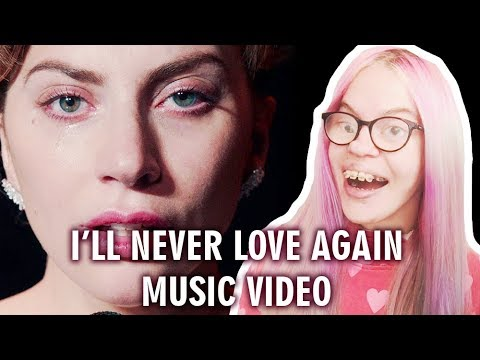 LADY GAGA - I'LL NEVER LOVE AGAIN (MUSIC VIDEO REACTION) | Sisley Reacts